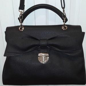 ALDO Black Shoulder Bag  Bow Purse Handbag
